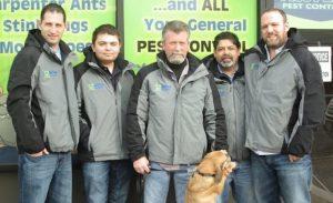 Pest Control Service Team