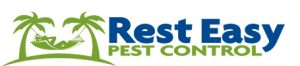 rest easy pest control logo